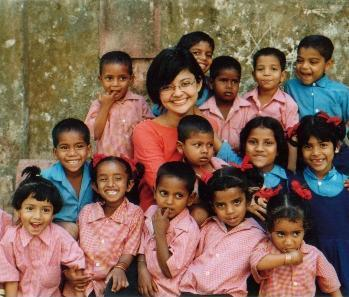 Children at Aseema's Centre for Street Children